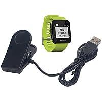 Garmin Forerunner 35Caricatore, Tusita® nuovo incasso unità di ricarica USB cavo filo filo clip di ricarica Dock Data Sync per Garmin Forerunner 35