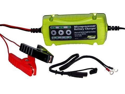 ProUser 16605 Intelligentes Batterieladegerät DFC 530, farblich sortiert (Pkw Batterieladegerät)