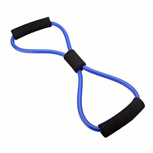Bluelover resistenza bande tubo fitness muscolare allenamento esercizio yoga tubi