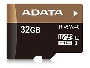 ADATA 32GB UHS-I U1 32GB MicroSDHC UHS Speicherkarte - Speicherkarten (32 GB, MicroSDHC, UHS, 45 MB/s)
