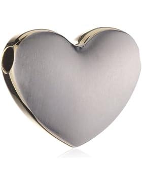 Boccia Damen-Anhänger Titan Herz (Seiten Gp) 0708-01