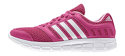 adidas Breeze 101 2 W, Running femme Pink (Eqt Pink S16/Ftwr White/Semi Pink Glow S16)