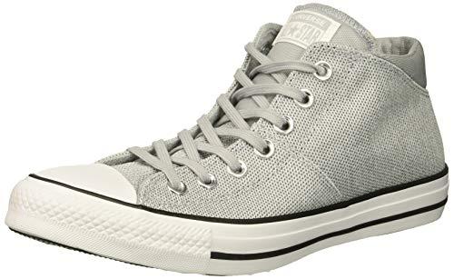 Converse Damen Chuck Taylor All Star Knit Madison Mid Sneaker, Grau (Wolf Grey/White/Wolf Grey), 38 EU (Gestrickte Converse)