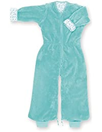 Bemini by Baby Boum Softy Jersey Sleeping Bag (6-24 Months, Lizie 73 Lagon)