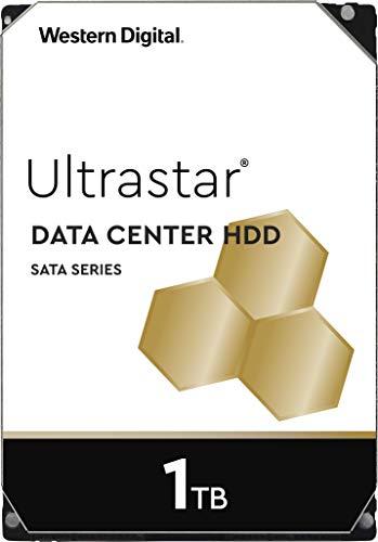 Sata Festplatte Server (Western Digital WD Ultrastar 1TB DC HA200 SATA HDD, 3,5 Zoll interne Festplatte für Server 128 MB Cache, Enterprise Klasse)