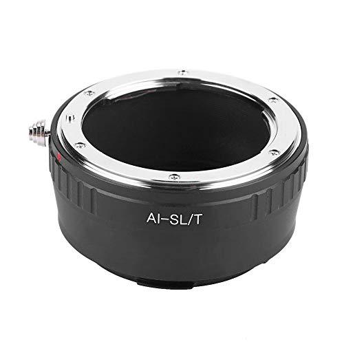 Topiky Objektivadapterring, Adapterring für Metallkamera mit präzisem Gewinde für Nikon AI-Objektiv, passend für Leica SL/T-Kamera