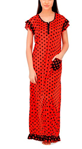 Fabme-Printed-Satin-Night-Gown-Pack-of-1