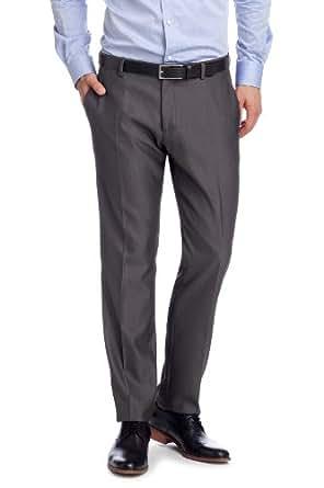 ESPRIT Collection Herren Anzughose Slim Fit 993EO2B903, Gr. 94 (M), Grau (024 ash grey)