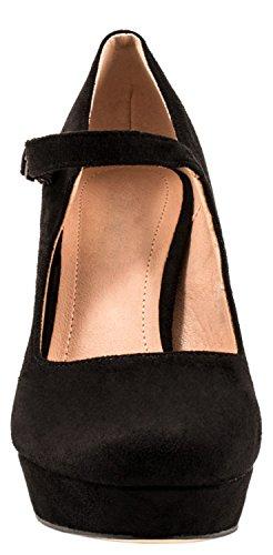 Elara - Scarpe con cinturino alla caviglia Donna Schwarz Atlanta