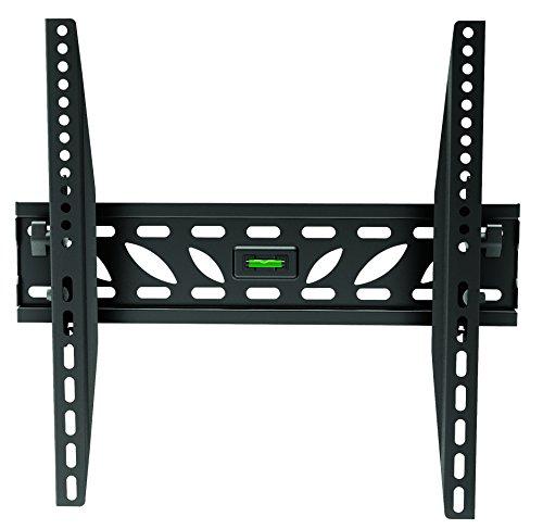 Soporte para pared extra fino para TV de 23–50pulgadas con 400x 400,400x 200,o 300x 300VESA de hasta 50 kg de peso