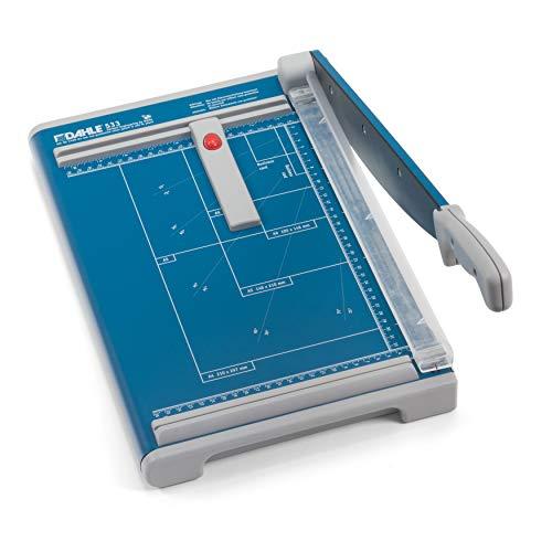 Dahle 533 Schneidemaschine (Bis DIN A4, 15 Blatt Schneidleistung) blau