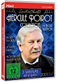 Agatha Christie: Hercule Poirot-Collection / Drei spannende Spielfilme mit Peter Ustinov (Mord à la Carte +Tödliche Parties + Mord mit verteilten Rollen) (Pidax-Film-Klassiker)
