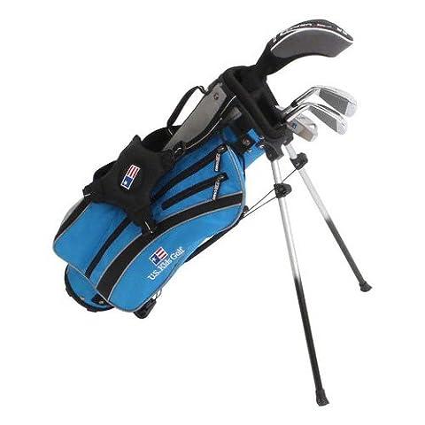 U.S. Kids Golf Ultralight Starter Set UL 45 RH / für die Größe 111-119 cm