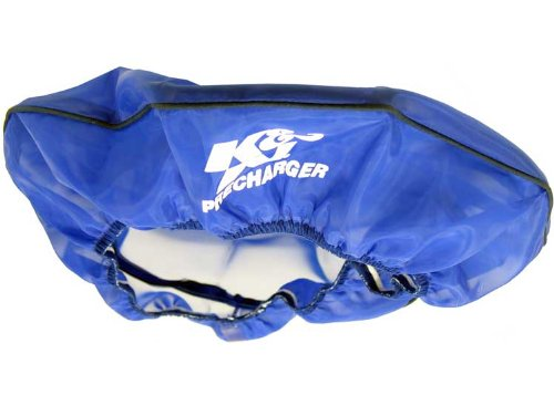 22–1422PL K & N AIR FILTER Wrap PRECHARGER; 35,6cm D, 2–1/4H, Blau (echtes KN Zubehör) (Air Wrap Filter)