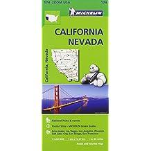 California Nevada Zoom Map 174