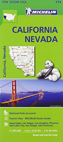 California-Nevada 1:1.267.200. Ediz. inglese