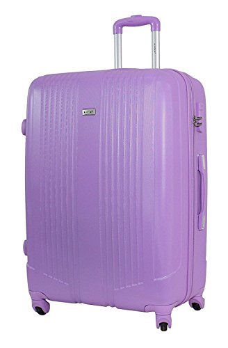 Valise Grande Taille 75cm - ALISTAIR Airo - ABS ultra Léger - 4 roues (Pink New)
