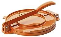 ibili Aluminium Tortilla Press, Orange, 20 cm