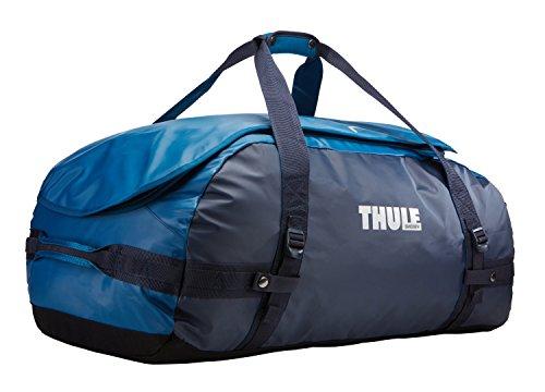 Thule Chasm Duffel Bag 90L (Rucksack und Reisetasche in einem) Blau (Poseidon), Erwachsene