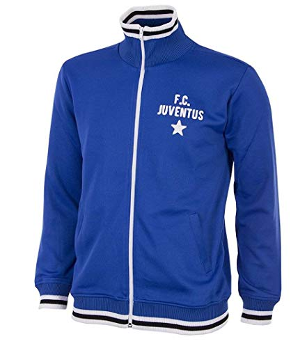 Copa Juventus Turin Trainingsjacke Retro 1975/1976 blau, M