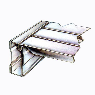 Steckregal Super1 Anbauregal S1 1972x1385x320 mm Fachbodenregal Aktenregal