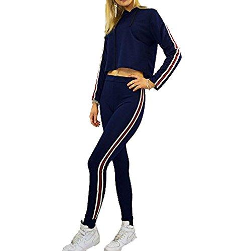 javox fashion -  Tuta da ginnastica  - Donna Navy