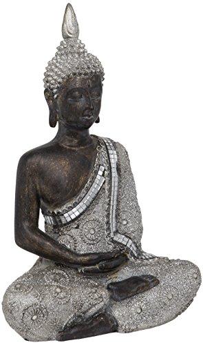 Maturi - Buda de meditación tailandesa (8,89 x 19,05 x 27,94 cm)
