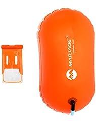 Sharplace 1 Pieza de Bolsillo Impermeable de Teléfono + 1 Unidad de Boya Naranja para Deporte
