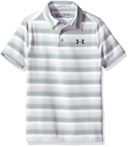 Under Armour Jungen Playoff Streifen Polo Shirt (Under Armour Streifen Jungen)