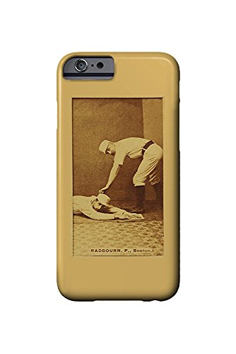 Boston Beaneaters - Old Hoss Radbourn - Baseball Card (iPhone 6 Cell Phone Case, Slim Barely There) -