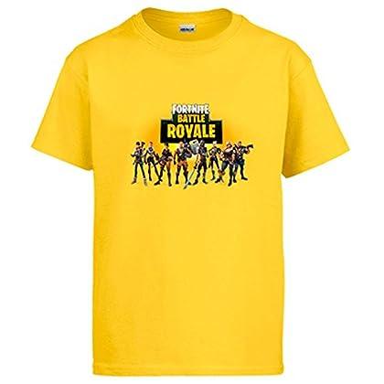 Camiseta Fortnite Battle Royale - Amarillo, 12-...