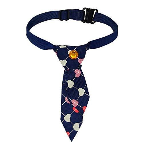 SW Cravate réglable pour animaux de compagnie Chien Chat Costume Cravate Collier Accessoires de toilettage