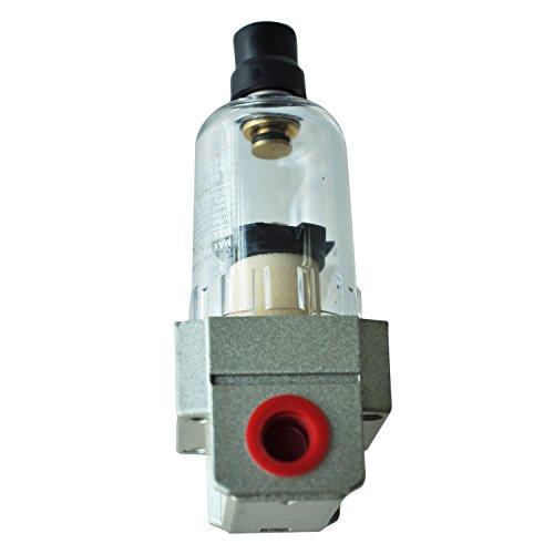 TOOGOO(R) Lega di alluminio del compressore del filtro Filtro aria AF2000-02