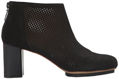 Camper Myriam Perforated Leather Heel Donna Scarpe Nero