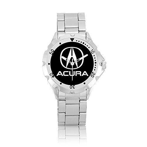 zoomeveryday-acura-rotating-bezel-stainless-steel-wrist-watch-black