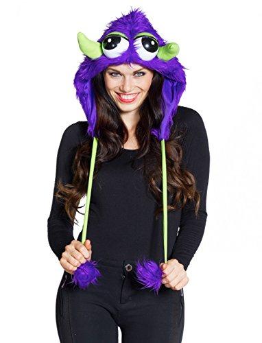 Deiters Monster Kostüm - Deiters Mütze Monster Plüsch