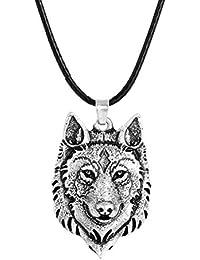 Italian Charms mit Wolf Motiv Kopf