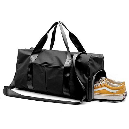 ICEIVY Sporttasche mit Schuhfach Für Frauen Männer, Reisetasche Trainingstasche Fitness Gym Tasche Handgepäck Schwimmtasche mit Nassfach und Schultergurt Für Damen Herren