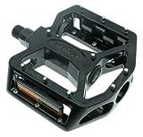 Wellgo A8 schwarze Profi ALU Plattform Pedale MTB Dirt schwarz