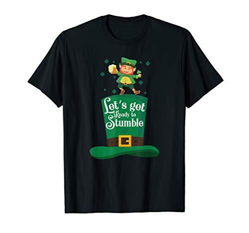 Lustige Lets Get Bereit To Stolpern St Patricks Tag T-Shirt