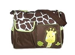 Generic Multifunctional Baby Diaper Nappy Changing Bag Mummy Handbag Giraffe ...-12011064MG