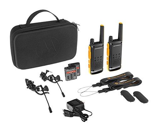 Motorola TLKR T82 Extreme PMR Funkgerät (Bis zu 10 km Reichweite, IPx4 Wetterschutz, 500 mW, VOX)