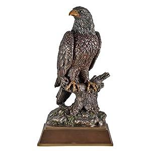 Unbekannt Veronese 708-7398 Großer Weißkopfseeadler auf Baumstumpf Figur Adler Tier Tierfigur Vogel