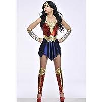 Señoras Batman v Superman Wonder Woman Traje Large (UK 16-18)