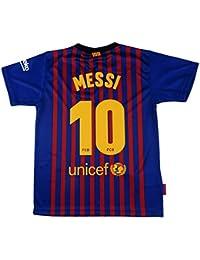 Camiseta 1ª equipación del FC. Barcelona 2018-2019 - Replica Oficial  Licenciado - Dorsal 4d19ebaaafc