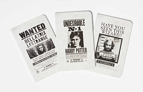 Harry Potter: Wanted Posters Pocket Notebook Collection (Harry Potter Journal Collectn)