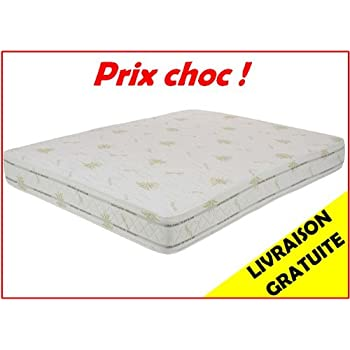 Matelas Latex Luxe 140 X 190 X 22 Cm Grand Confort Biolatex Amazon