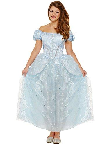 LADIES FAIRYTALE COSTUMES - LOST SHOE PRINCESS (Princess Aurora Kostüm Für Erwachsene)
