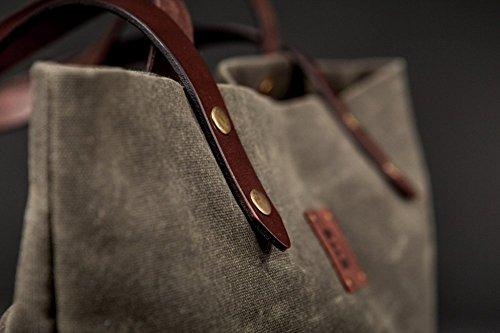 Tote Bag. Handbag. Bag for women. Shoulder bag for work. Travel bag Forest tree