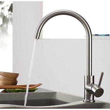 DZ American Standard Küchenarmatur Zeitgenössisch Sidespray Edelstahl Gebürsteter Nickel (American Standard Küchenarmatur)